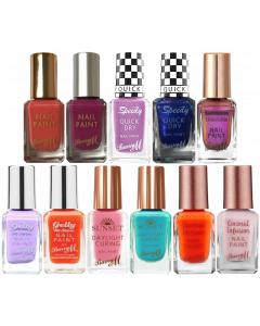 Barry M Assorted Nail Polish Pack Of 33