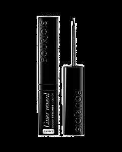 Bourjois Liner Reveal Liquid Eyeliner 01 Shiny Black Pack Of 3
