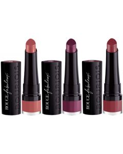 Bourjois Rouge Fabuleux Lipstick Pack Of 3