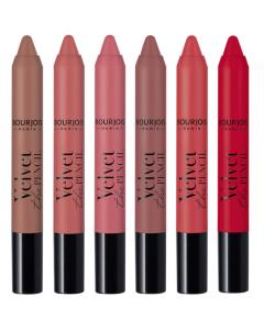 Bourjois Velvet The Pencil Matte Lipstick Pack Of 3