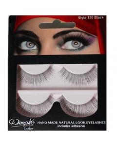 Dimples False Eyelashes Black Style 120