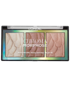 L'Oreal Chroma Morphose Duo Chrome Highlighting Palette Pack Of 3
