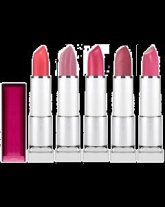 Maybelline Color Sensational Lipstick Pink Shades Pack Of 3