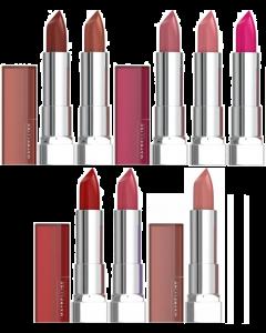 Maybelline Color Sensational Cream Lipstick Pack Of 3