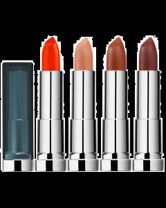 Maybelline Color Sensational Matte Lipstick Pack Of 3