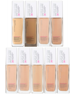 Maybelline Super Stay 24H Full Coverage Foundation Pack Of 3
