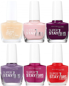 Maybelline Super Stay 7 Days Gel Nail Colour Polish Pack Of 18
