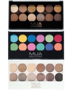 MUA 12Shade Eyeshadow Palette (SCUFFED CASES)