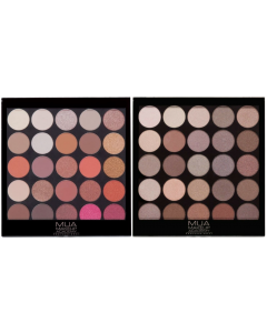 MUA 25pc Eyeshadow Palette (SCUFFED CASES)