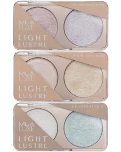 MUA Luxe Light Lustre Highlight Duo