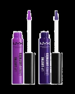 NYX Lip Lustre Glossy Lip Tint Pack Of 3
