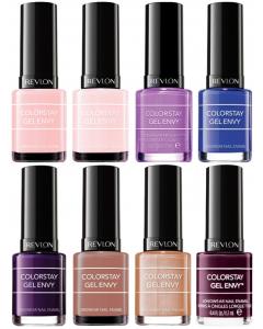 Revlon Colorstay Gel Envy Nail Polish Pack Of 16