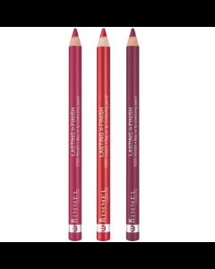 Rimmel Lasting Finish 1000 Kisses Lip Pencil Pack Of 3