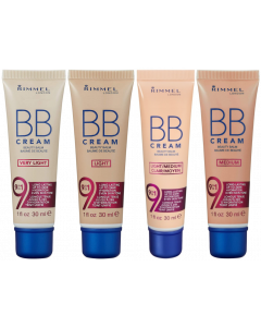 Rimmel BB Cream 9 In 1 Make-Up Pack Of 2