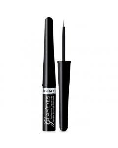 Rimmel Glam'Eyes Professional Liquid Liner 001 Black Glamour Pack Of 3