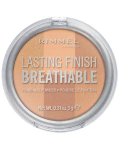 Rimmel Lasting Finish Breathable Finishing Powder 002 Dawn Pack Of 2