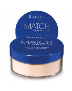 Rimmel Match Perfection Loose Powder 001 Transparent Pack Of 3
