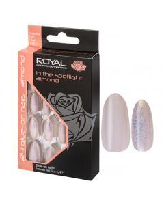 Royal In The Spotlight AlmondNail Tips Pack Of 6