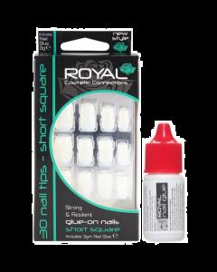 Royal Cosmetic Connections Short Square Nail Tips