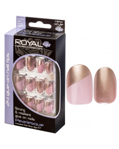 Royal Pearlesque Nail Tips Pack Of 6