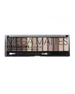 Technic 12pc Mega Mattes Nude Eyeshadow Palette Tray x 12