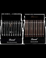 Laval Waterproof Twist Up Eyeliner Pencils Tray x 36