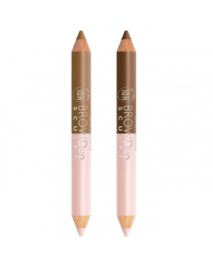 Bourjois Brow Duo Sculpt Brow Pencil & Highlighter Pen Pack Of 3
