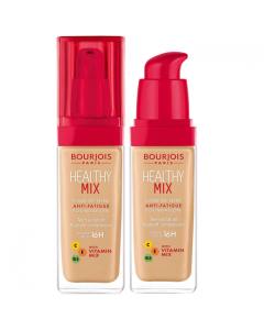 Bourjois Healthy Mix 16H Foundation 53 Light Beige Pack Of 3