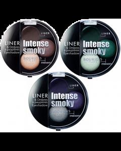 Bourjois Intense Smoky Trio Eyeshadow Pack Of 3