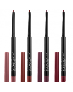 Maybelline Color Sensational Shaping Lip Liner Pencil Pack Of 3