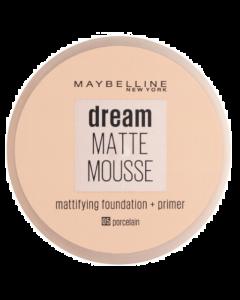 Maybelline Dream Matte Mousse Foundation + Primer 05 Porcelain Pack Of 3