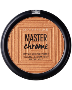 Maybelline Master Chrome Metallic Highlighter Powder 150 Molten Bronze Pack Of 3