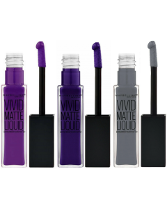 Maybelline Color Sensational Vivid Matte Liquid Pack Of 3