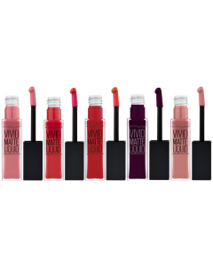 Maybelline Color Sensational Vivid Matte Liquid Pack Of 16