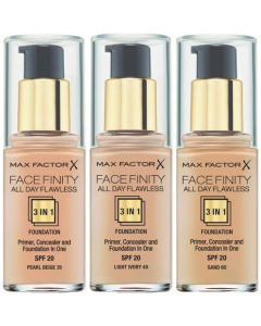 Max Factor Face Finity All Day Flawless 3 In 1 Foundation (BROKEN SEAL)