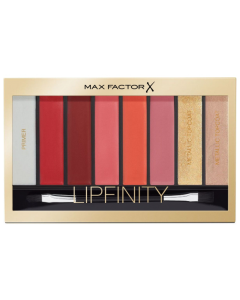 Max Factor Lipfinity 8pc Lip Palette 04 Reds Pack Of 3