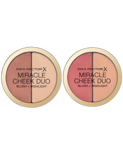 Max Factor Miracle Cheek Duo Blush + Highlight Pack Of 3
