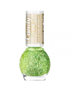 Miss Sporty Candy Shine Glitter Effect Nail Polish Shade 001 Pack Of 3