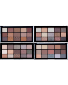 MUA 15 Shade Eyeshadow Palette (SCUFFED CASES)