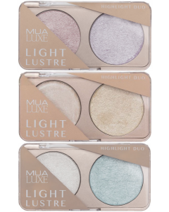 MUA Luxe Light Lustre Highlight Duo