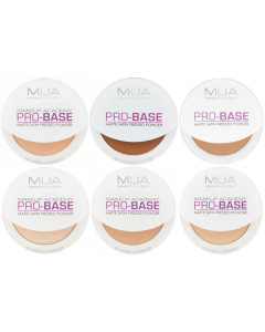 MUA Pro Base Matte Satin Pressed Powder