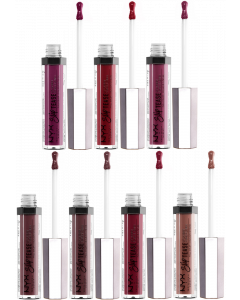 NYX Slip Tease Lip Lacquer Pack Of 3
