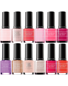 Revlon Colorstay Gel Envy Nail Polish Pack Of 24