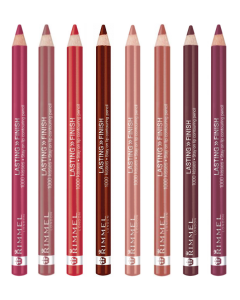 Rimmel Lasting Finish 1000 Kisses Lip Pencil Pack Of 3