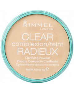 Rimmel Clear Complexion Clarifying Powder 021 Transparent Pack Of 3