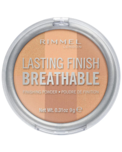 Rimmel Lasting Finish Breathable Finishing Powder 002 Dawn Pack Of 2