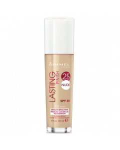 Rimmel Lasting Finish 25 HR Nude Foundation 100 Ivory Pack Of 3