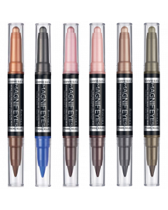 Rimmel Magnif'eyes Duo Eyeshadow & Kohl Liner Pen Pack Of 3