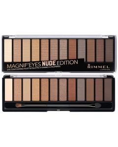 Rimmel Magnif'eyes Nude Edition Eye Contouring Palette Pack Of 3