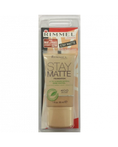 Rimmel Stay Matte Foundation 400 Bronze